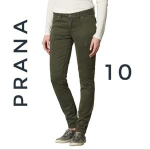 Prana Louisa straight leg cargo pants